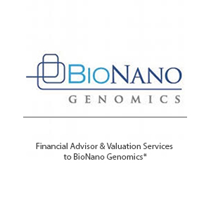 Bionano genomics Tombstone