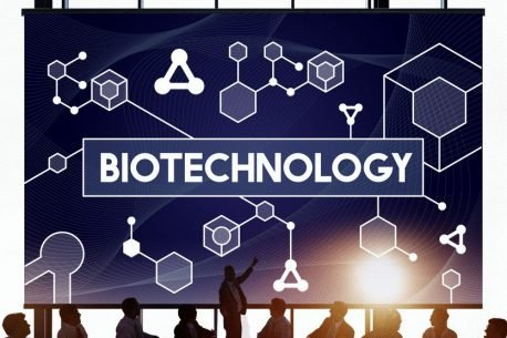 biotechnology meeting at round table