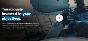 Objective Capital Partners homepage screenshot