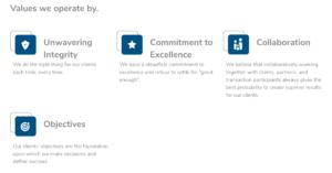 Objective Capital Partner company values